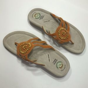 🔥Orange Earth Shoe Sandals - Size 11